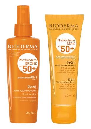 Bioderma – Photoderm Max a Photoderm Bronz