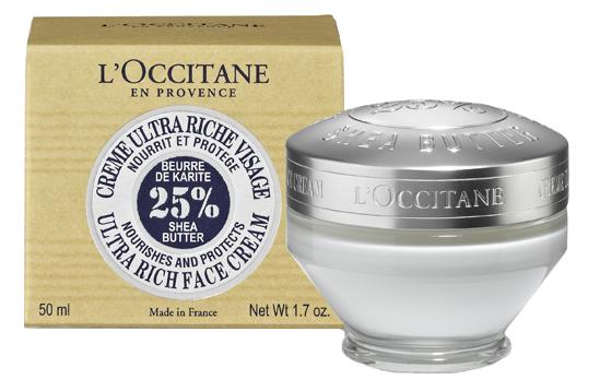 L'Occitane - výživný denní krém s bambuckým máslem