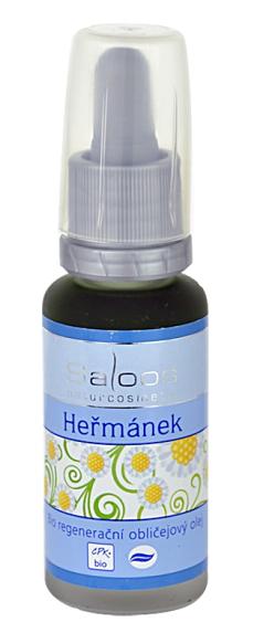 Saloos - bio regenerační obličejový olej Heřmánek