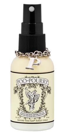 Toaletní deodorant Poo-Pourri s vůní bergamotu, citronové trávy a grapefruitu