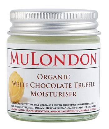 MuLondon balzám - bílá čokoládová pralinka (White Chocolate Truffle Moisturizer)