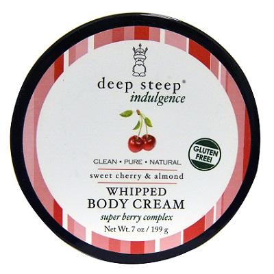 Deep Steep - tělový krém Višeň a Mandle