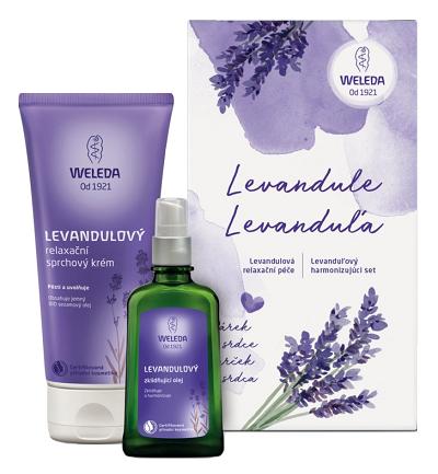 Weleda - levandulový olej a sprchový krém
