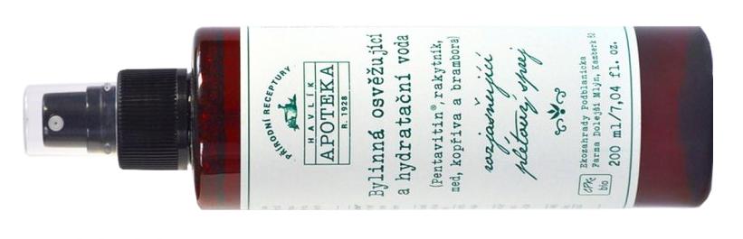 Havlíkova apotéka – Bylinná osvěžující a hydratační voda