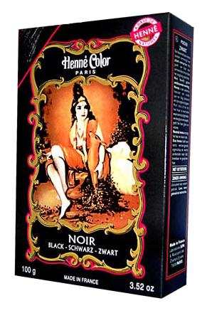 Henné Color - černá barva na vlasy