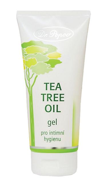 Dr. Popov – Tea Tree Oil gel pro intimní hygienu