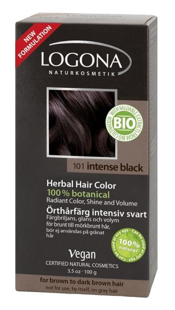 Logona - barva na vlasy (101 Intenzivní černá)