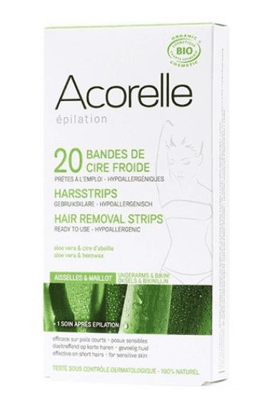 Acorelle – bio epilační proužky na tělo