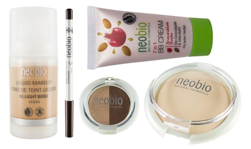 Neobio - make-up, BB krém, pudr, oční stíny, tužka na oči