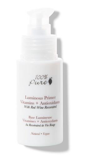 100% Pure – Rozjasňující báze pod make-up