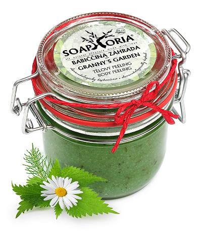 Soaphoria - tělový peeling Babiččina zahrada