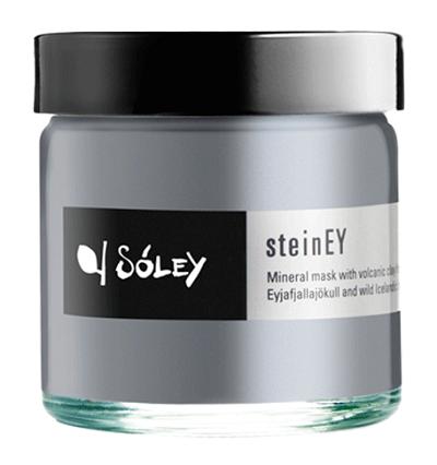 Sóley Organics - pleťová maska se sopečným jílem steinEY