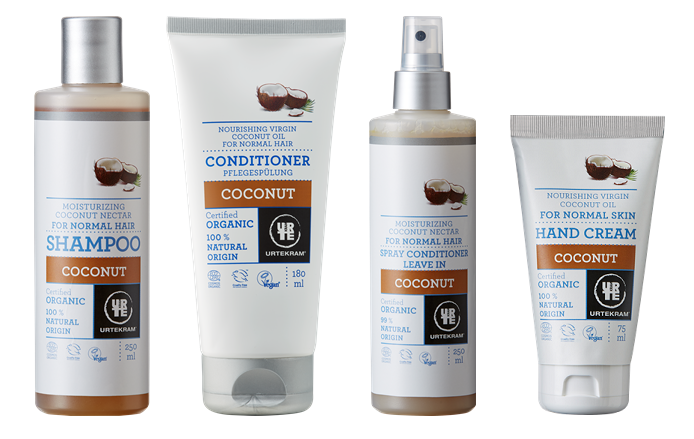 Urtekram - kokosová vlasová péče