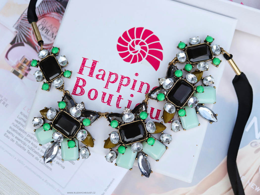 Happiness Boutique - Elegance And Charm Statement Necklace (náhrdelník)