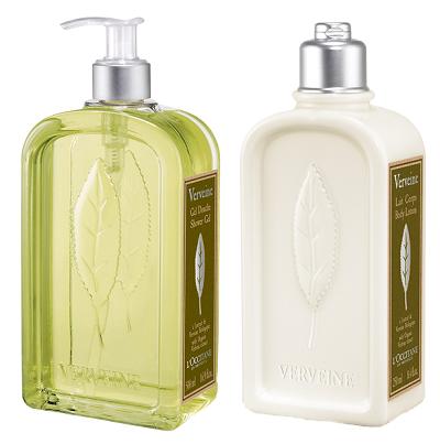 L'Occitane - tělové mléko a sprchový gel Verbena