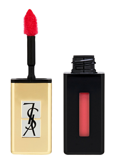 Yves Saint Laurent - Rtěnka Rouge Pur Couture Pop Water (odst. 201, Dewy Red)
