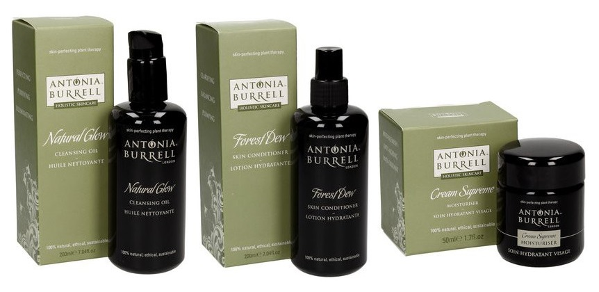 Antonia Burrell - Natural Glow, Forest Dew, Cream Supreme (14 dní testování)