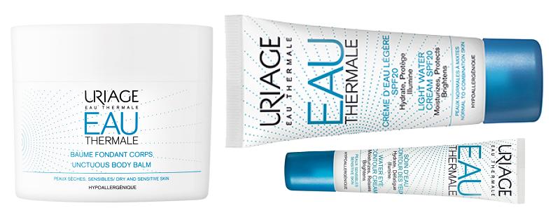 Uriage – hydratační řada Eau Thermale (lehký krém, oční krém, tělový balzám) – testuje CHLAP
