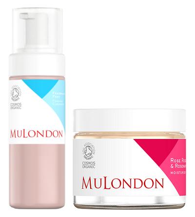 MuLondon - čisticí pěna a růžový hydratační balzám