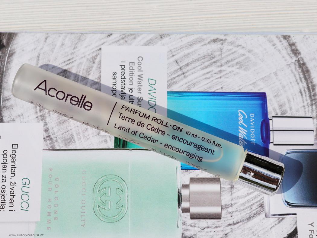 Acorelle - BIO parfém Cedrová země (roll-on)