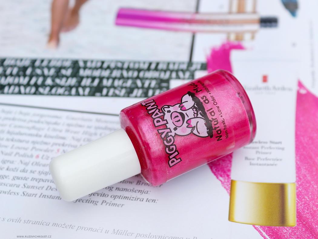 Piggy Paint - lak na nehty v odst. Forever Fancy + Basecoat/Topcoat