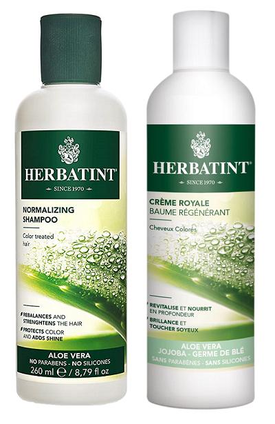 Herbatint - šampon a kondicionér pro barvené vlasy