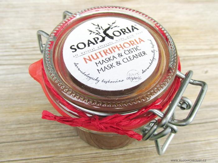 Soaphoria - Nutriphoria (přírodní pleťová maska a čistič)