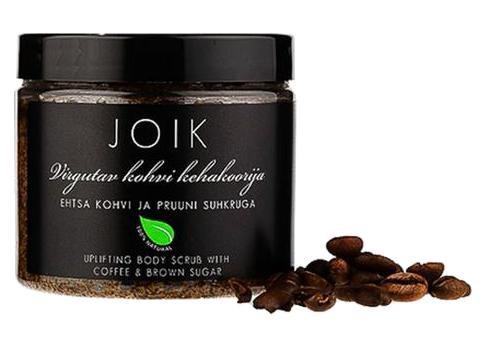 JOIK - Povznášející tělový peeling s kávou a hnědým cukrem