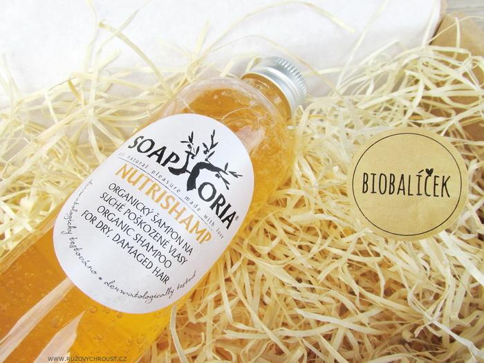 Soaphoria - NutriShamp Přírodní šampon na suché a poškozené vlasy