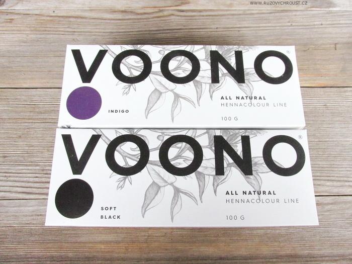 Voono – henna v odstínu Soft Black a Indigo