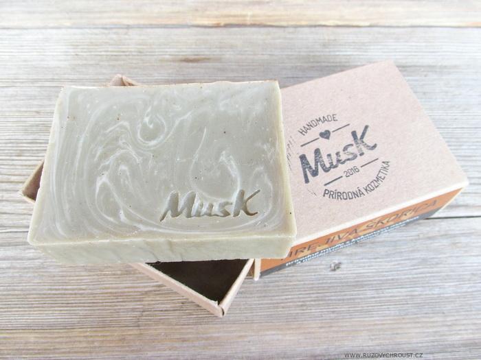 """MusK - Přírodní mýdlo """"Hřejivá skořice"""""""