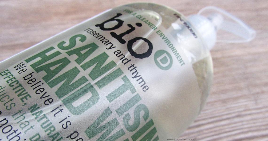 Bio-D - Tekuté dezinfekční mýdlo na ruce s rozmarýnou a tymiánem