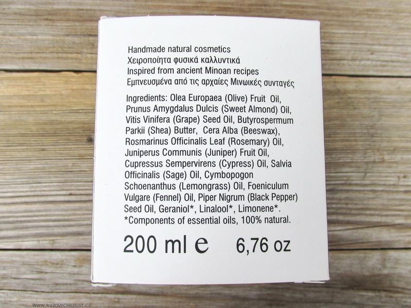 Bioaroma - krém proti celulitidě s rozmarýnem, cypřišem a černým pepřem