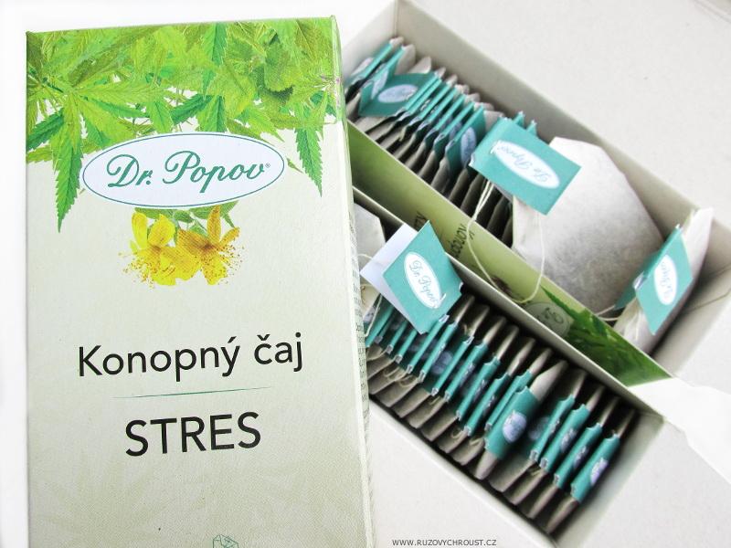 Dr. Popov - konopný čaj Stres