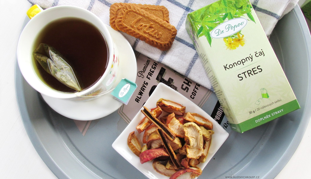 Dr. Popov - konopné čaje Stres, Kůže a Klouby