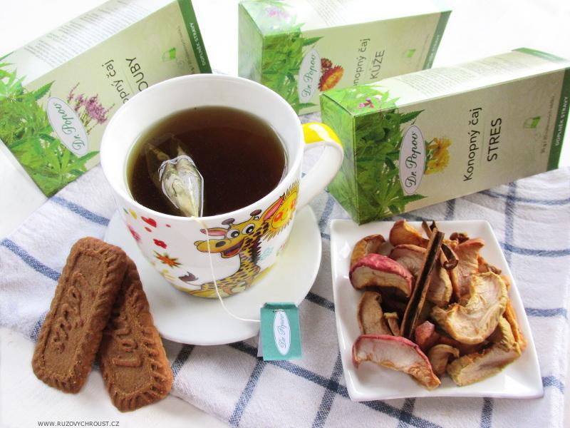 Dr. Popov - konopný čaj