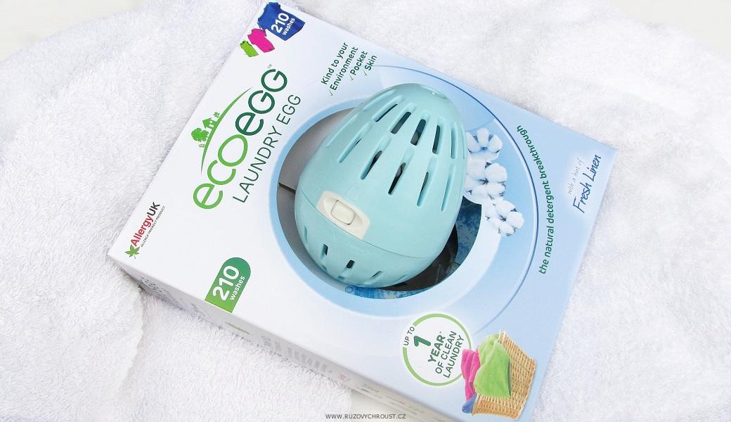 """EcoEgg - vajíčko na praní """"Svěží bavlna"""" (210 praní)"""