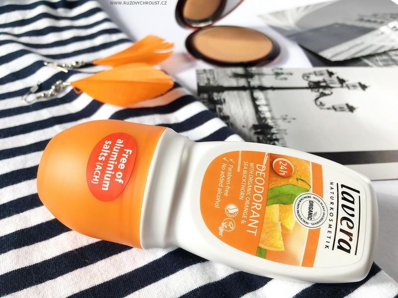 Lavera - jemný deodorant s pomerančem a rakytníkem