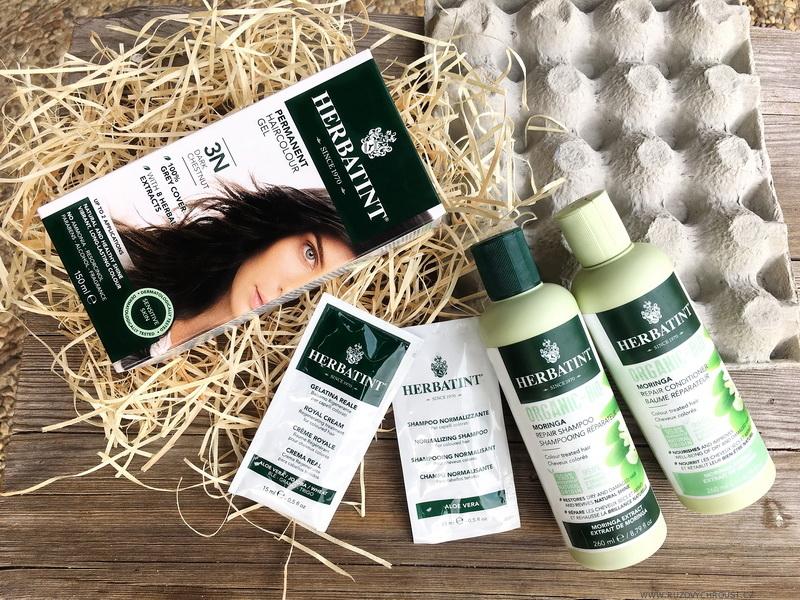 Herbatint - Bio šampon a Bio kondicionér (řada Moringa Repair)