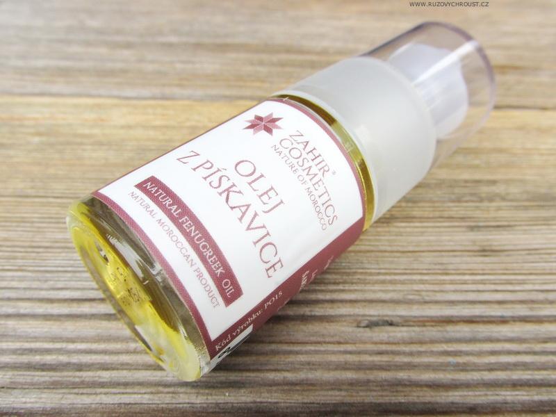 Zahir Cosmetics - olej z pískavice řeckého sena