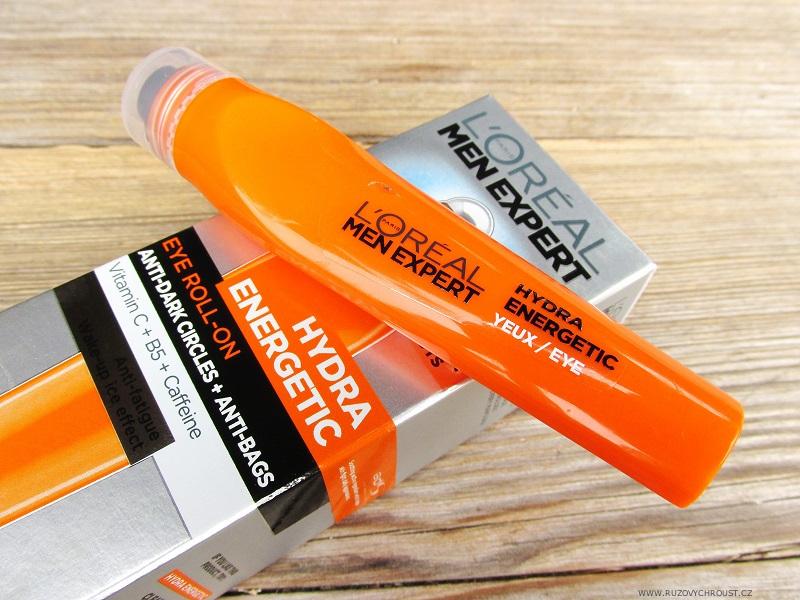 L'Oreál - oční gel pro muže (Men Expert Hydra Energetic)