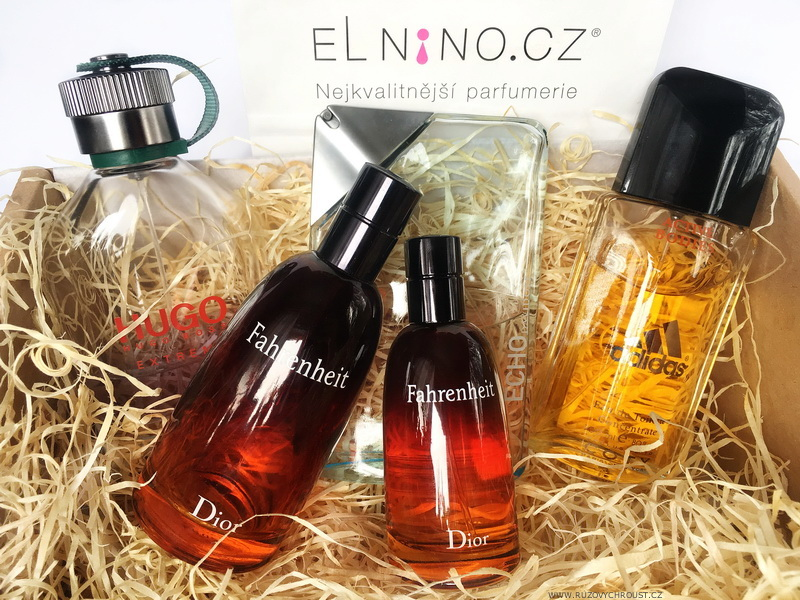 Pánské vůně - Christian Dior Fahrenheit, Hugo Boss Hugo, Adidas Active Bodies, Davidoff Echo