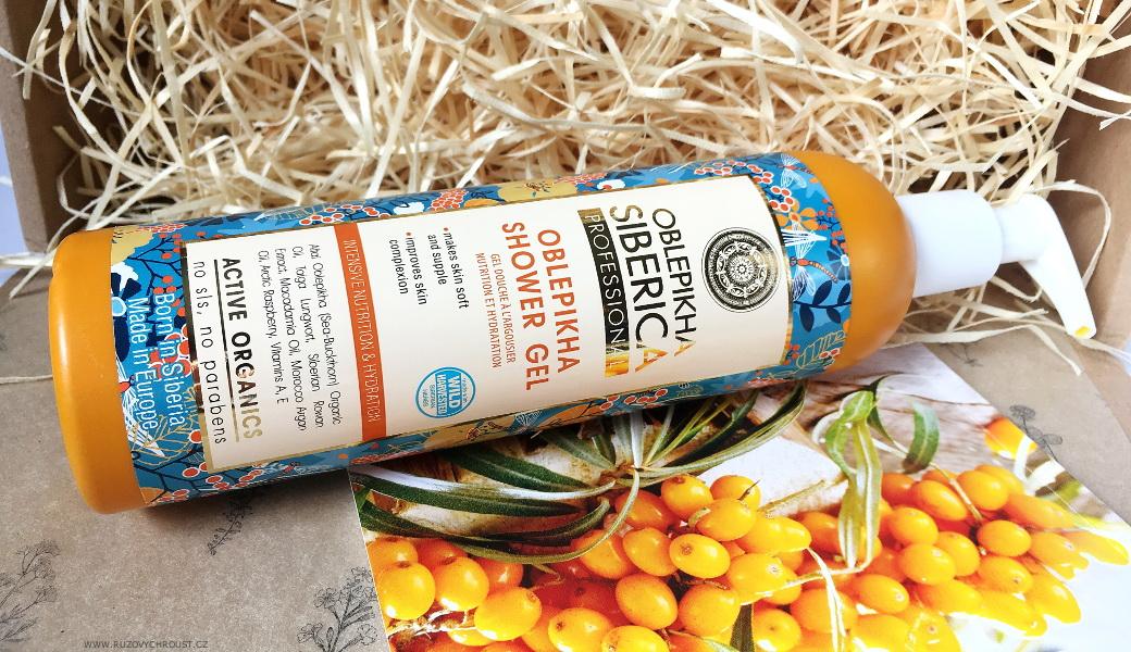 Natura Siberica - Rakytníkový sprchový gel Intenzivní výživa a hydratace