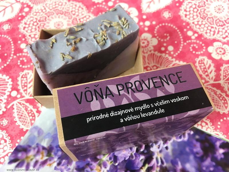 """Navia a Musk - tuhý tělový balzám Levandule a tuhé mýdlo """"Vůně Provence"""""""