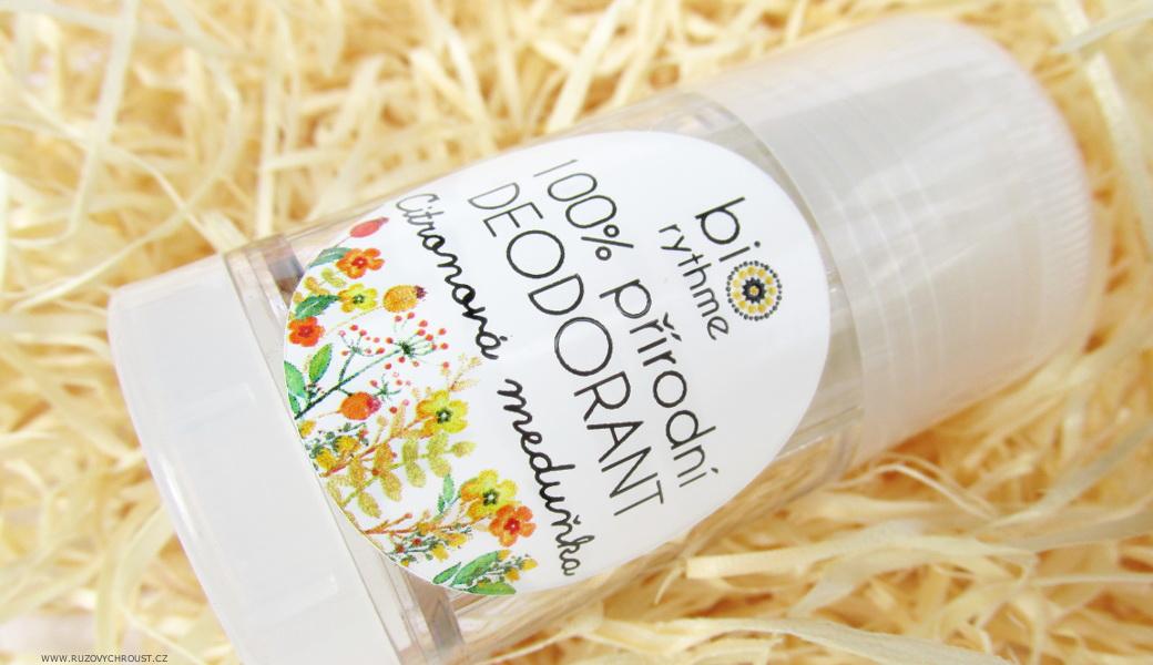 Biorythme - přírodní deodorant Citronová meduňka