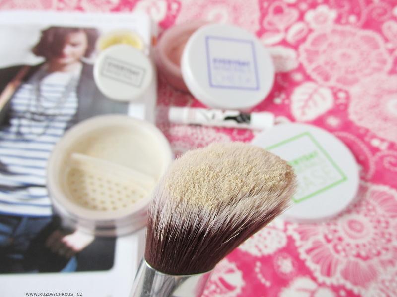 Everyday Minerals - make-up 2N, Sunlight korektor, tvářenka GBF, tónovací balzám Jubilee