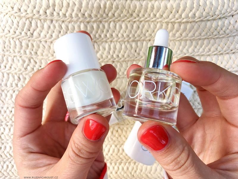 Olejíček na nehty a nehtovou kůžičku