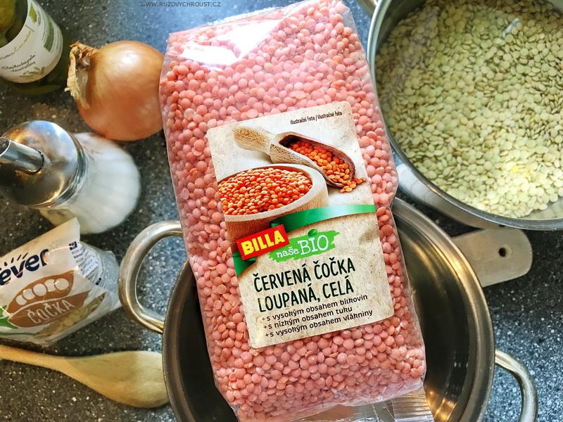 Recept pro začátečníky: červená a hnědá čočka na kyselo