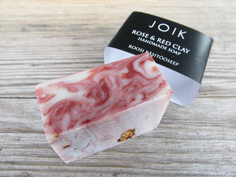 Joik - Mýdlo s růží a červeným jílem
