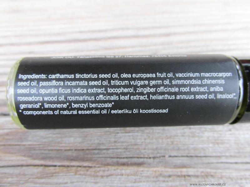 Joik - Hedvábné pleťové sérum s olejem z brusinkových semínek